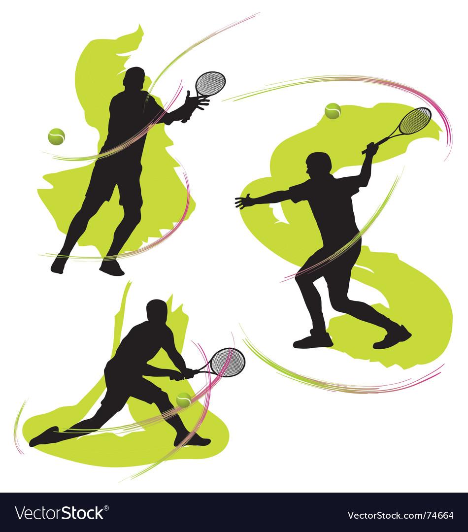 Tennis graphics vector | Price: 1 Credit (USD $1)