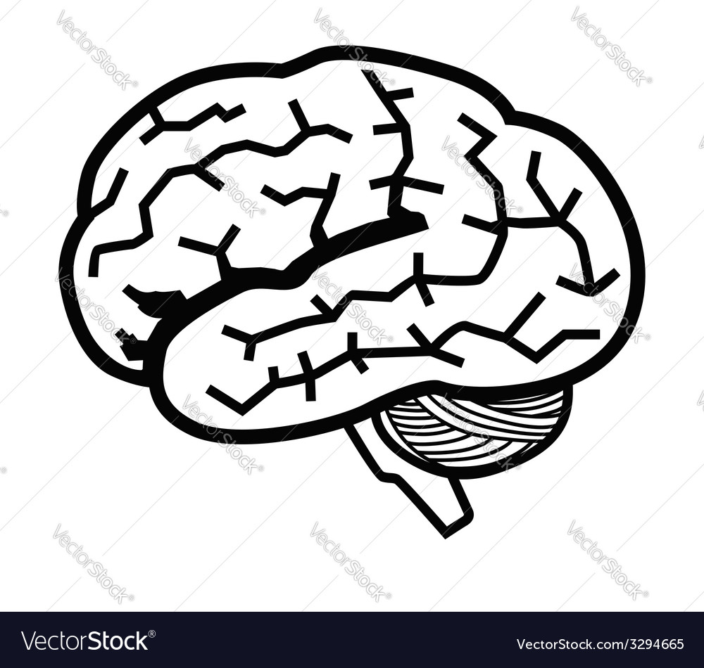 Brain icon vector | Price: 1 Credit (USD $1)