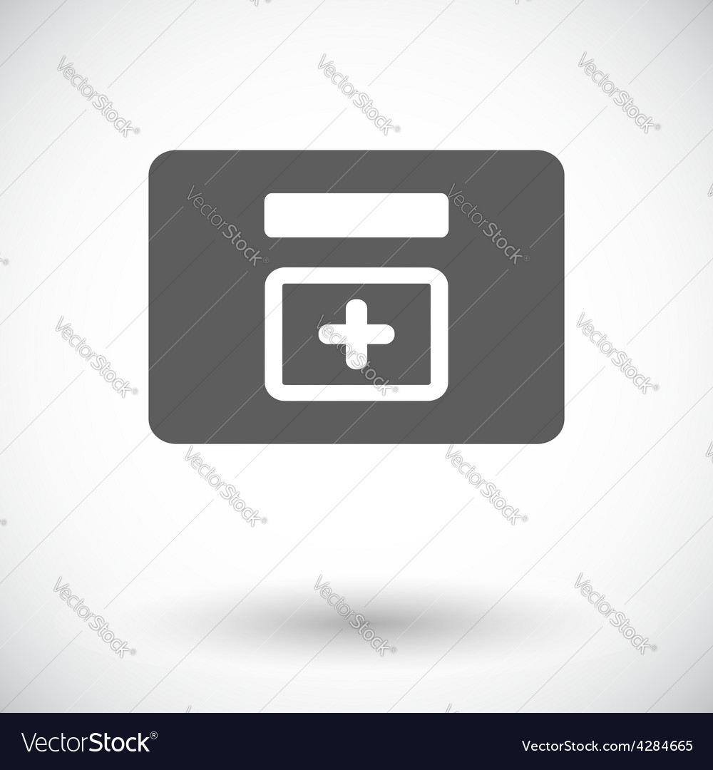 First aid kits icon vector   Price: 1 Credit (USD $1)
