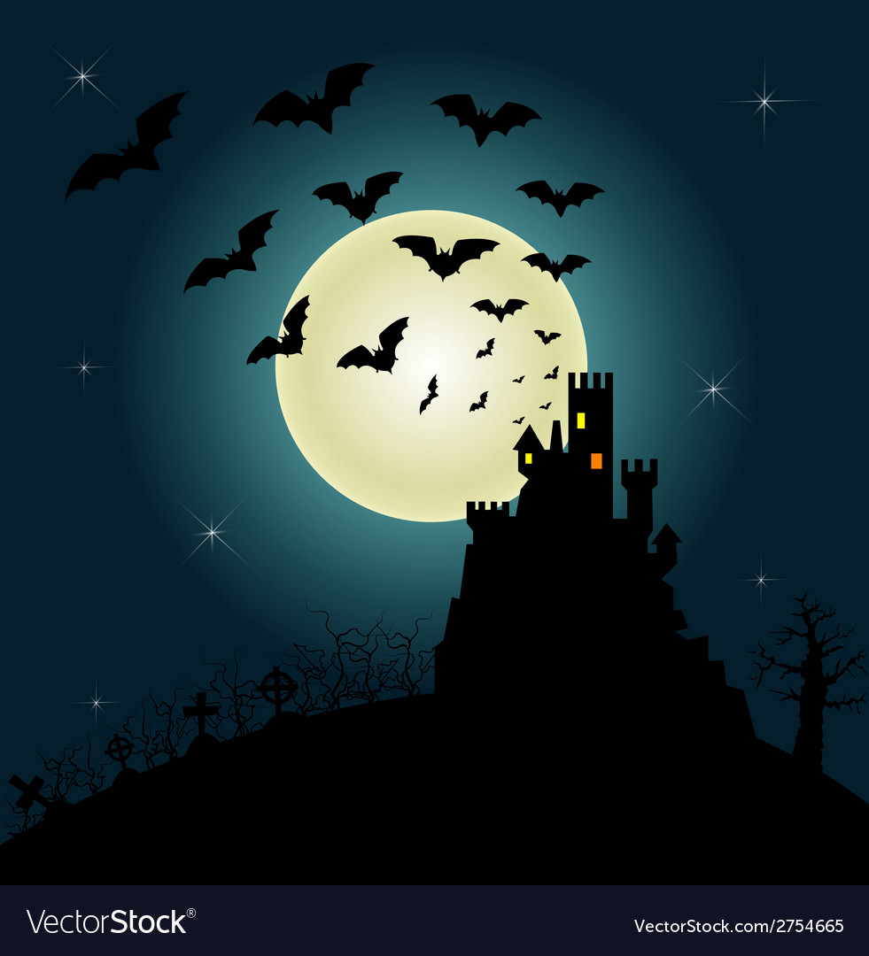 Helloween invitation and greeting card vector | Price: 1 Credit (USD $1)