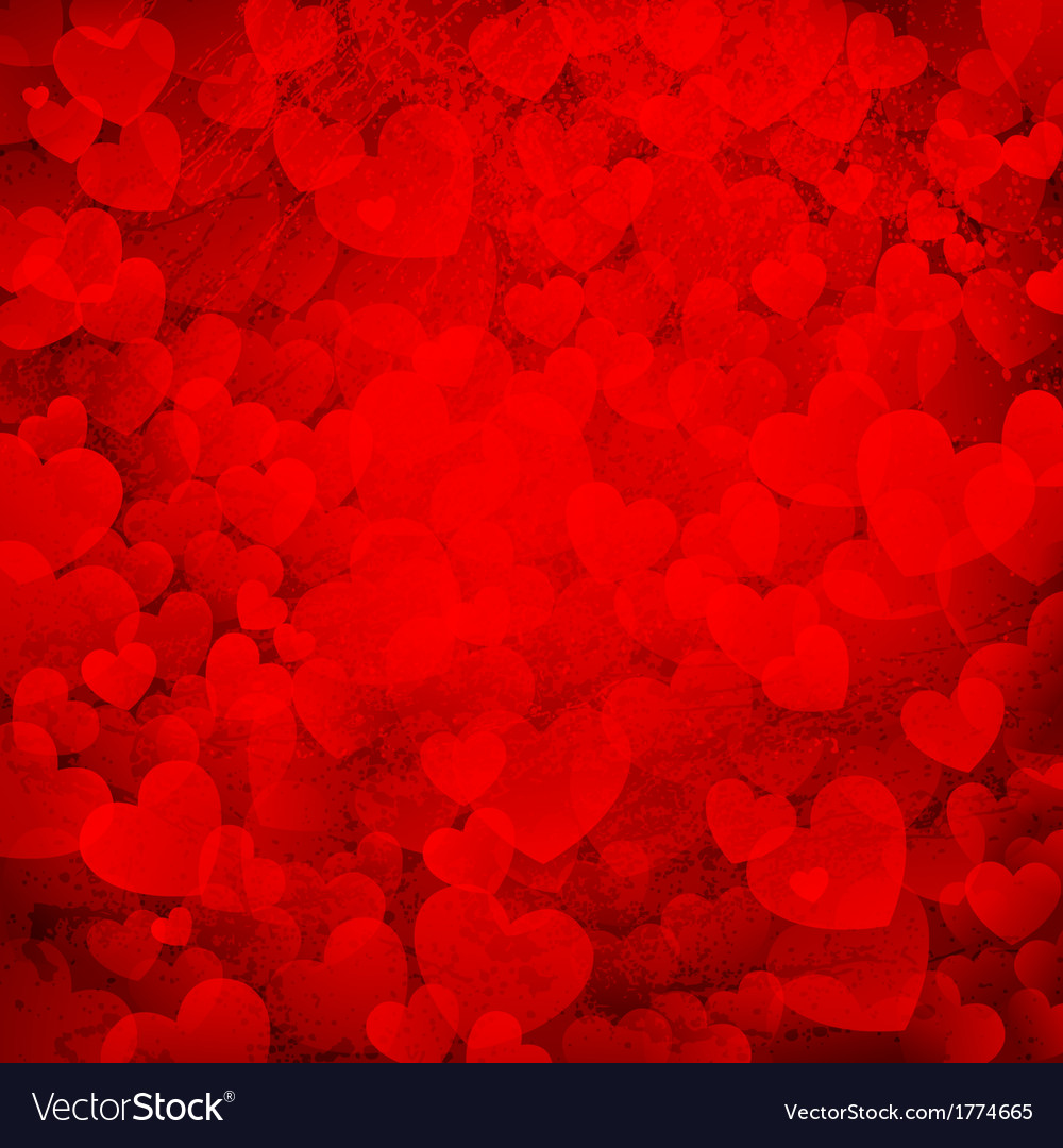 Rusty love background vector | Price: 1 Credit (USD $1)