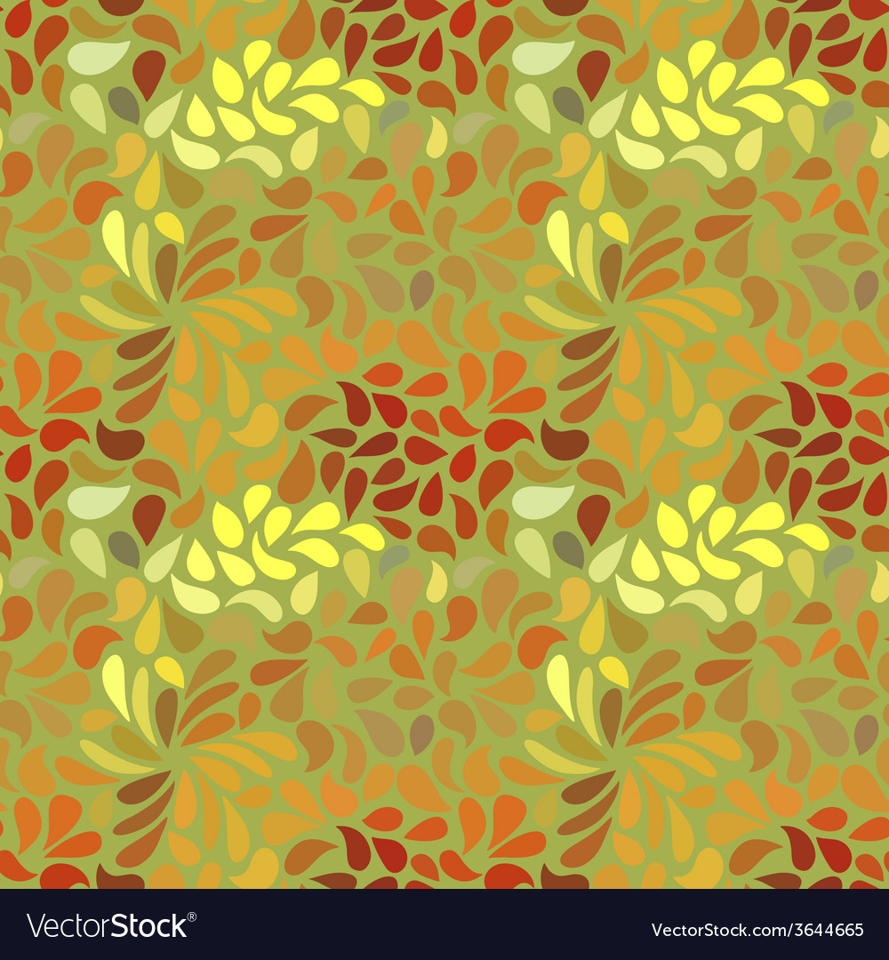 Seamless abstract floral pattern vector   Price: 1 Credit (USD $1)