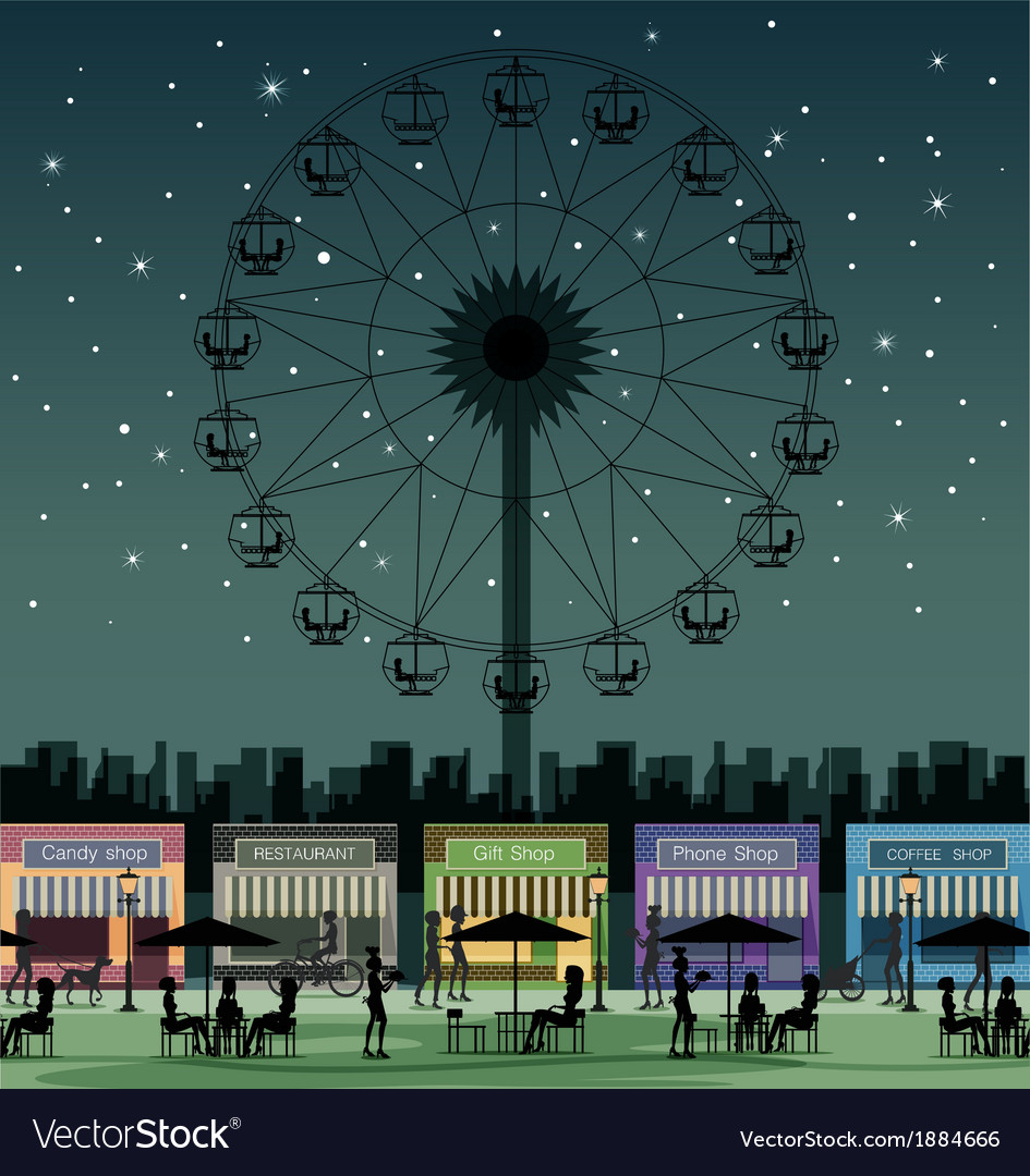 Amusement park vector | Price: 3 Credit (USD $3)