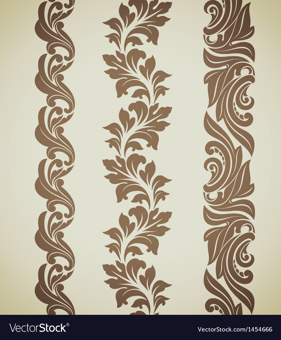 Baroque patterns vector | Price: 1 Credit (USD $1)