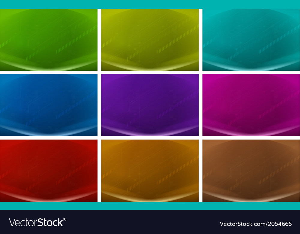 Colourful backgrounds vector | Price: 1 Credit (USD $1)