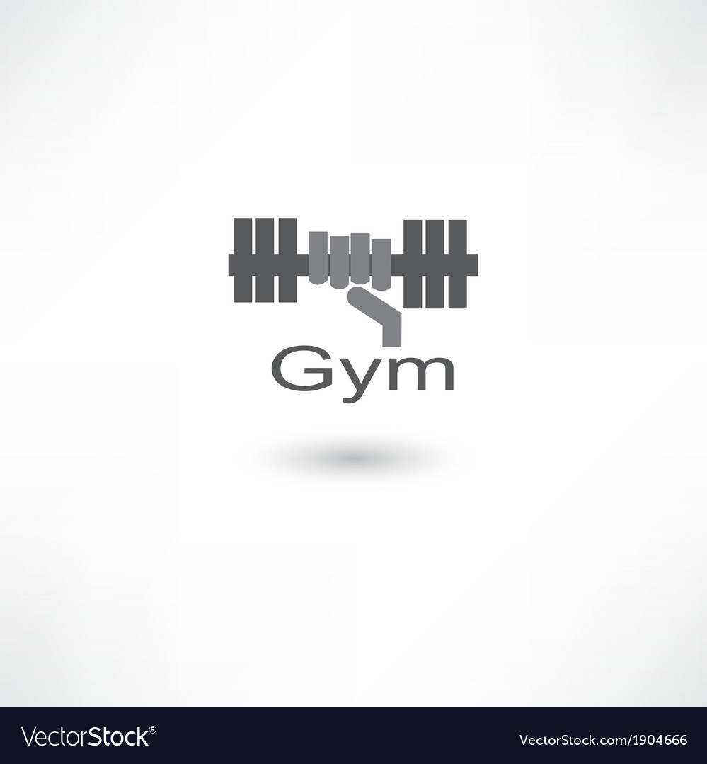 Fitness dumbbell vector | Price: 1 Credit (USD $1)