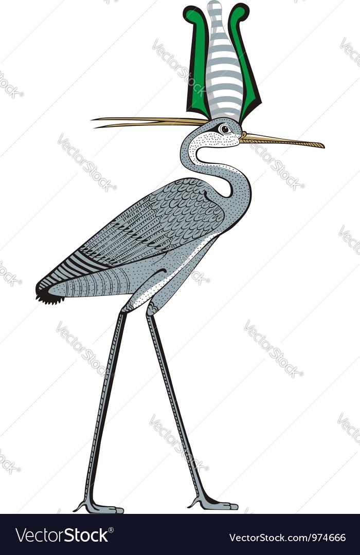 Ibis vector | Price: 1 Credit (USD $1)