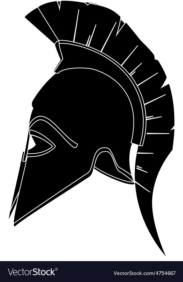 Black helmet vector | Price: 1 Credit (USD $1)