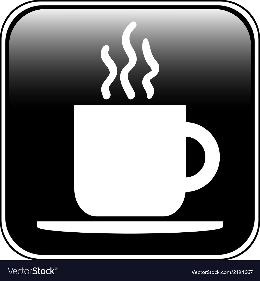 Coffee button vector   Price: 1 Credit (USD $1)