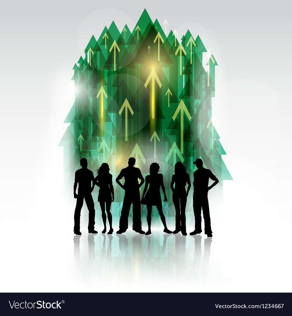 Group of people 2802 vector | Price: 1 Credit (USD $1)