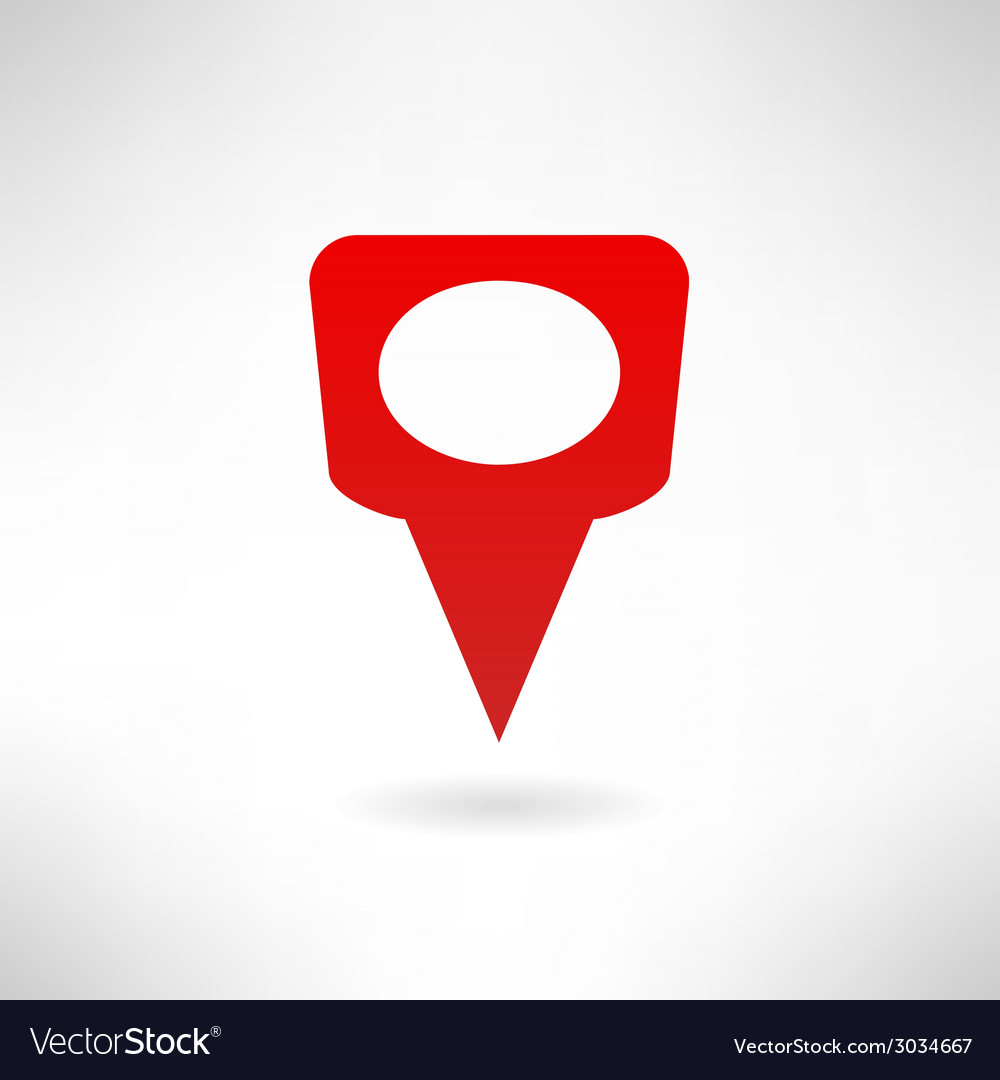 Map marker icon made in modern flat design vector   Price: 1 Credit (USD $1)