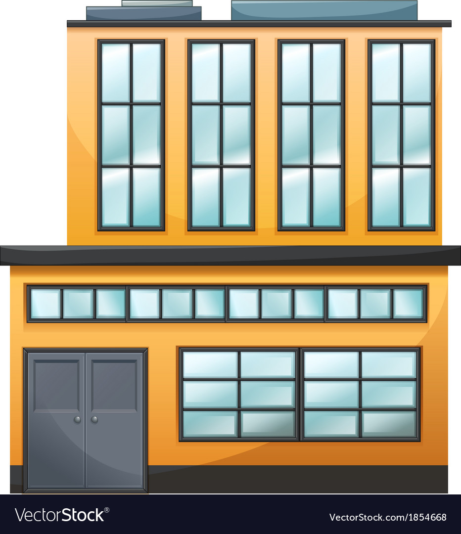 A big building vector | Price: 1 Credit (USD $1)