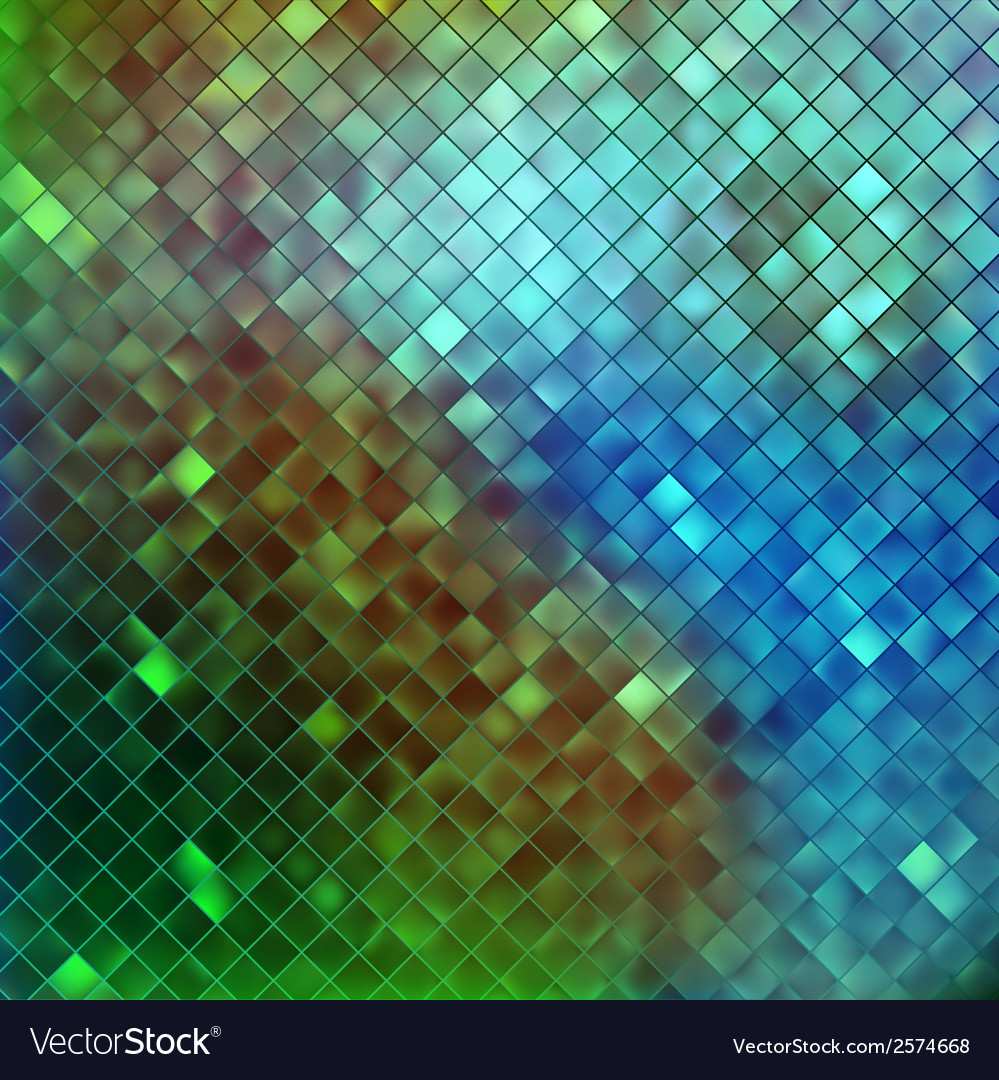 Blue glitters on a soft blurred background eps 10 vector | Price: 1 Credit (USD $1)