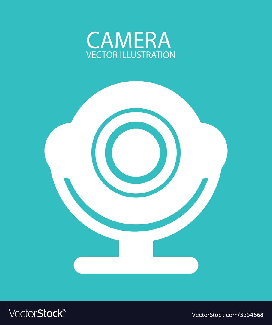 Camera icon design vector | Price: 1 Credit (USD $1)