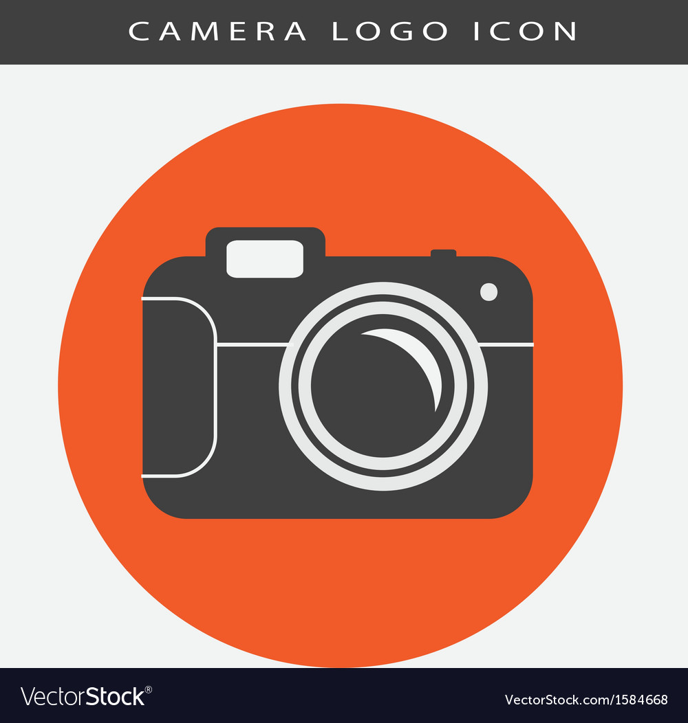 Camera logo icon vector | Price: 1 Credit (USD $1)