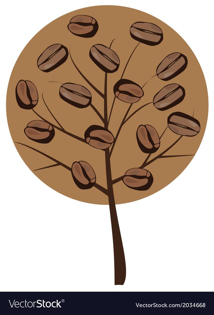 Coffee tree vector   Price: 1 Credit (USD $1)