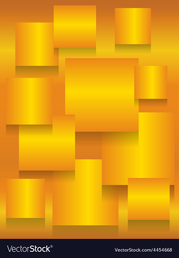Gold square boards background vector | Price: 1 Credit (USD $1)