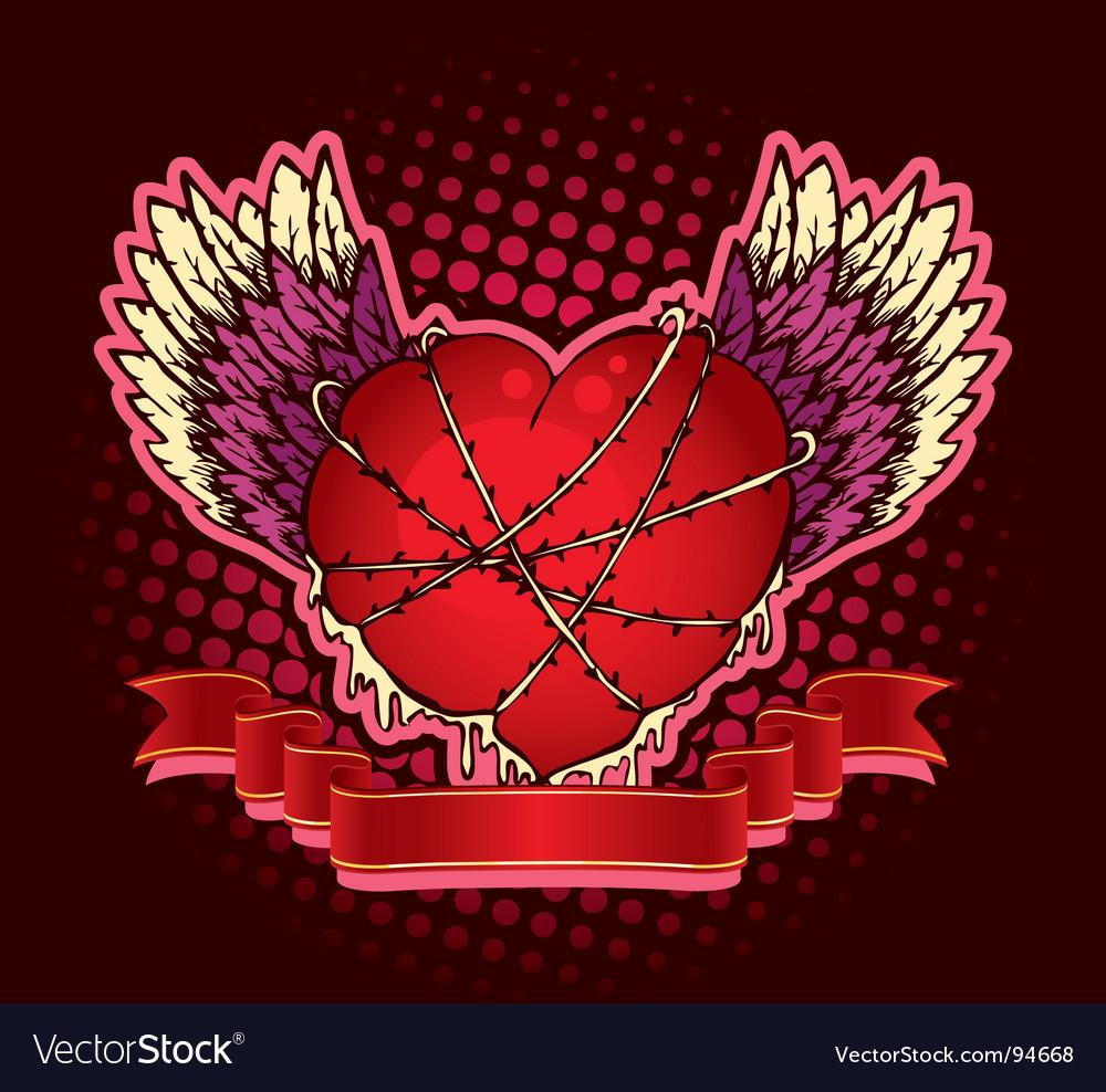 Hard heart vector | Price: 1 Credit (USD $1)