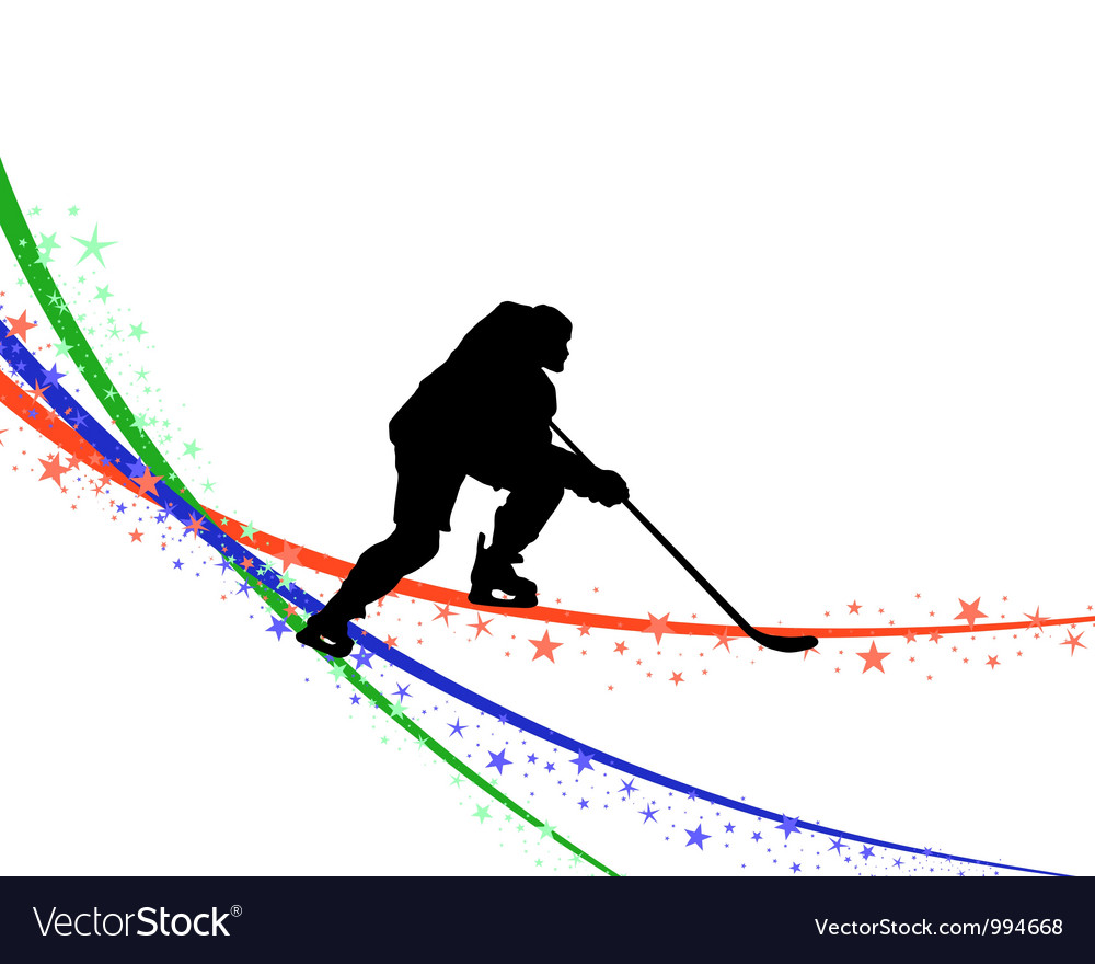 Hockey background vector | Price: 1 Credit (USD $1)
