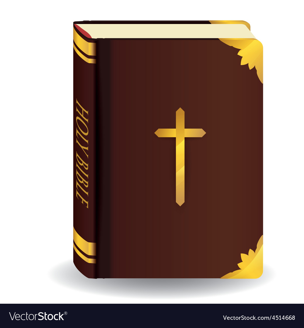Holy bible design vector | Price: 1 Credit (USD $1)