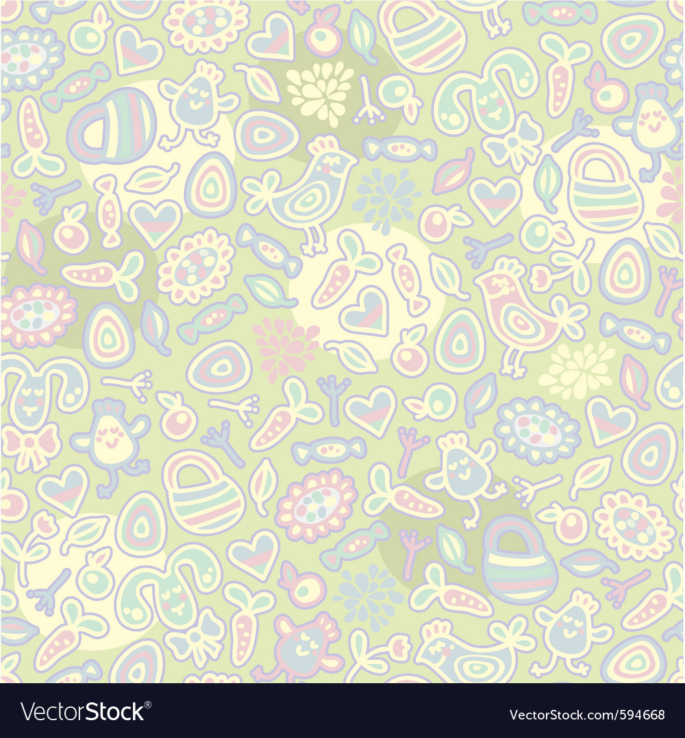 Pastel seamless vector | Price: 1 Credit (USD $1)
