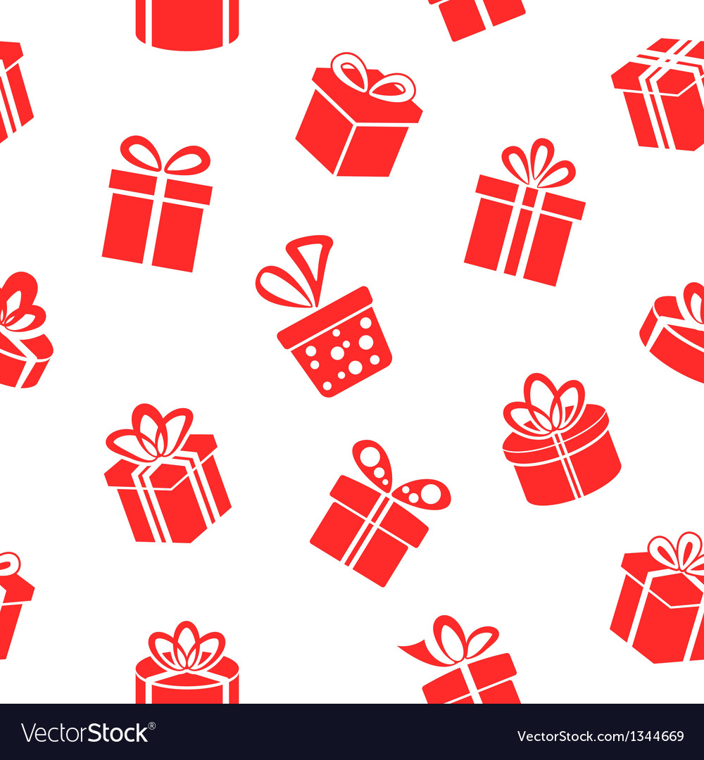Gift pattern vector | Price: 1 Credit (USD $1)