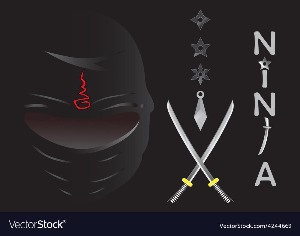 Ninja cartoon vector   Price: 1 Credit (USD $1)