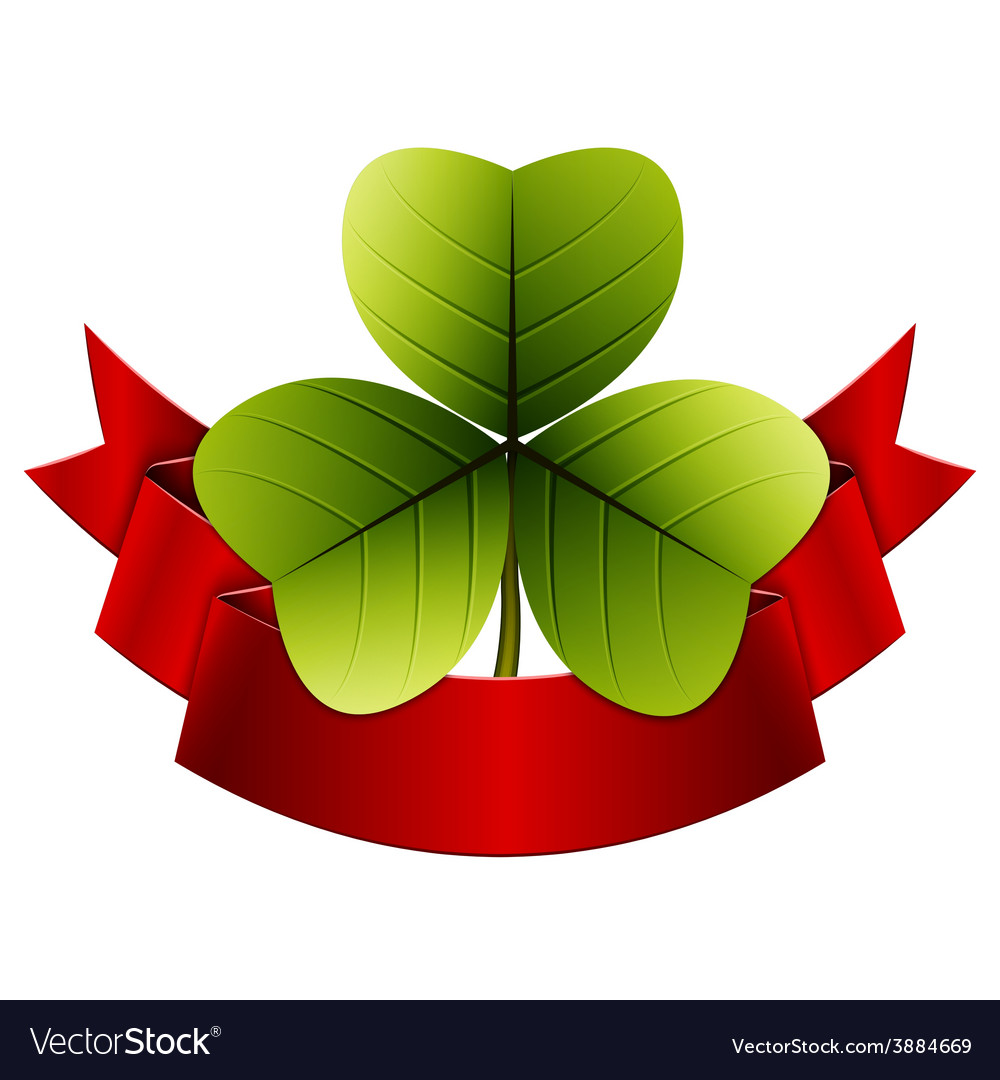 Trefoil clover vector | Price: 1 Credit (USD $1)