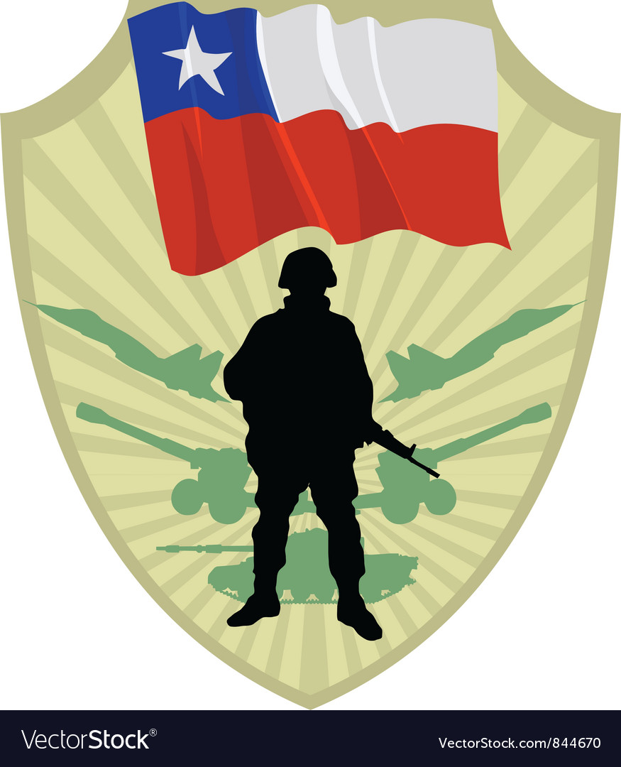 Army of chile vector | Price: 1 Credit (USD $1)
