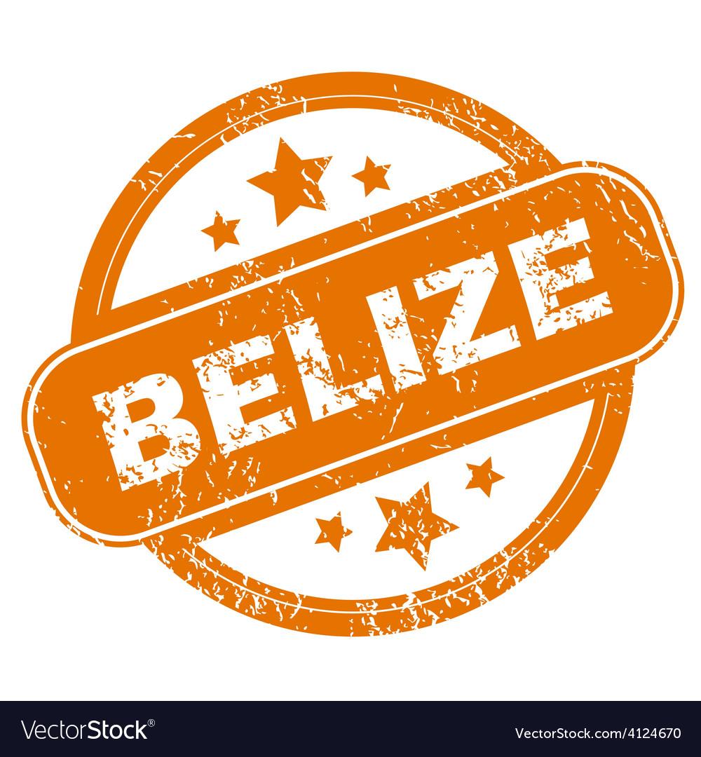 Belize grunge icon vector   Price: 1 Credit (USD $1)