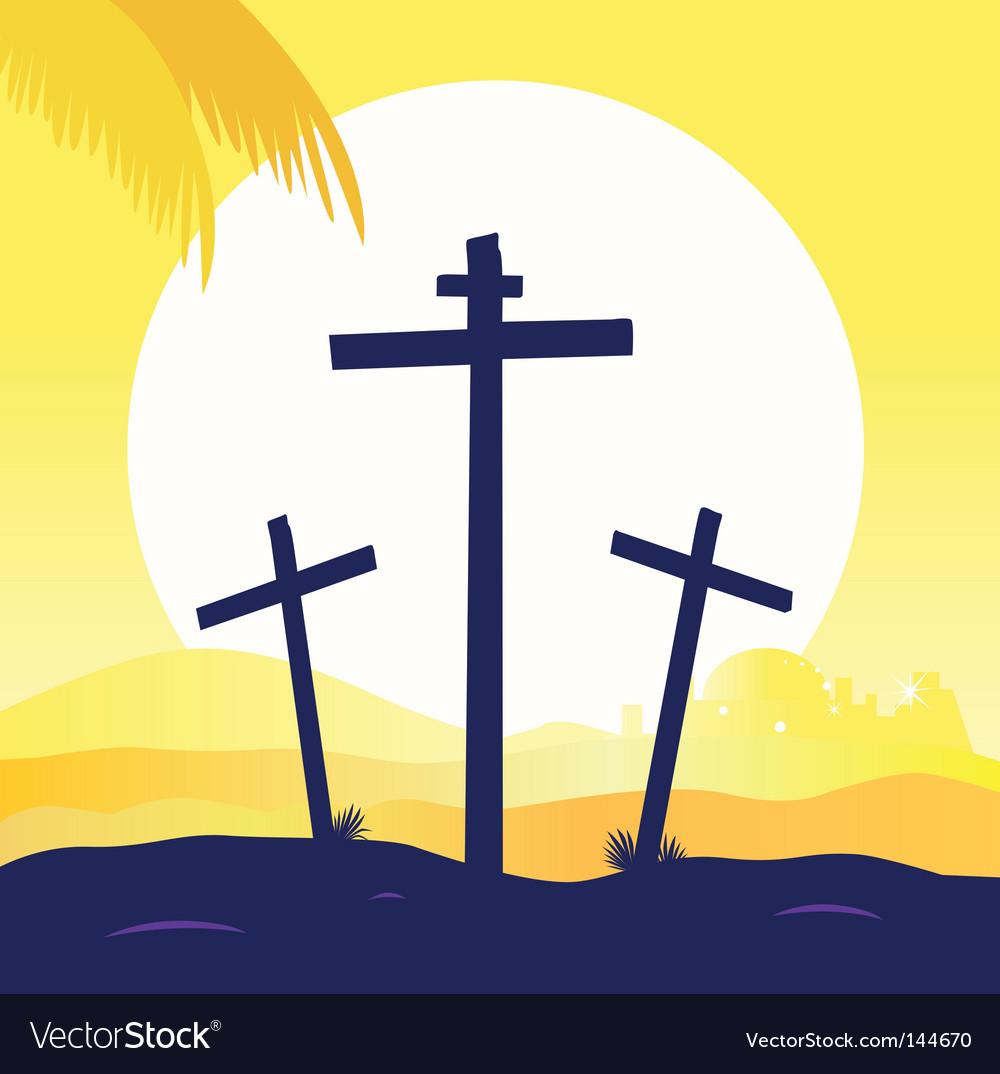Jesus crucifixtion vector   Price: 1 Credit (USD $1)