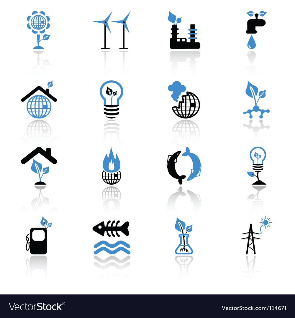 Ecology concept icons vector | Price: 1 Credit (USD $1)