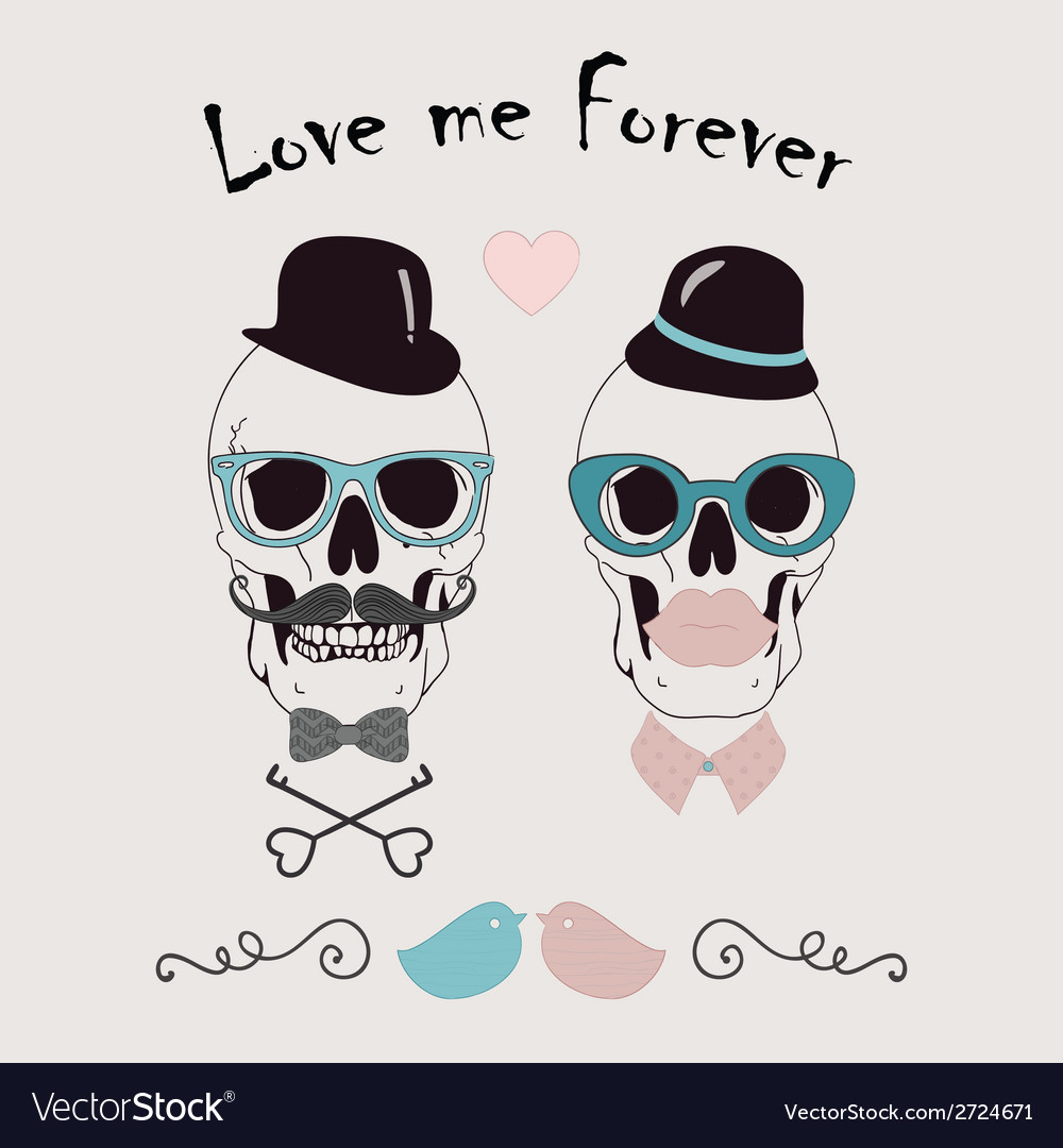 Love me forever funny vector | Price: 1 Credit (USD $1)