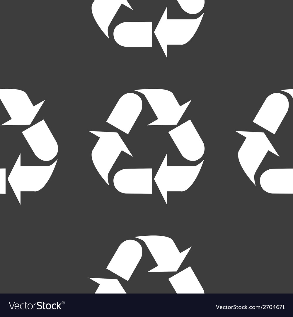 Processing web icon flat design seamless gray vector | Price: 1 Credit (USD $1)