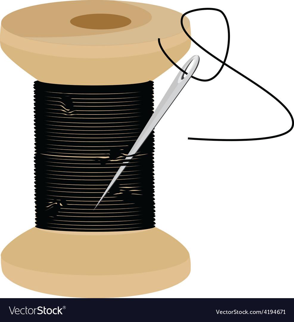 Thread spool vector | Price: 1 Credit (USD $1)
