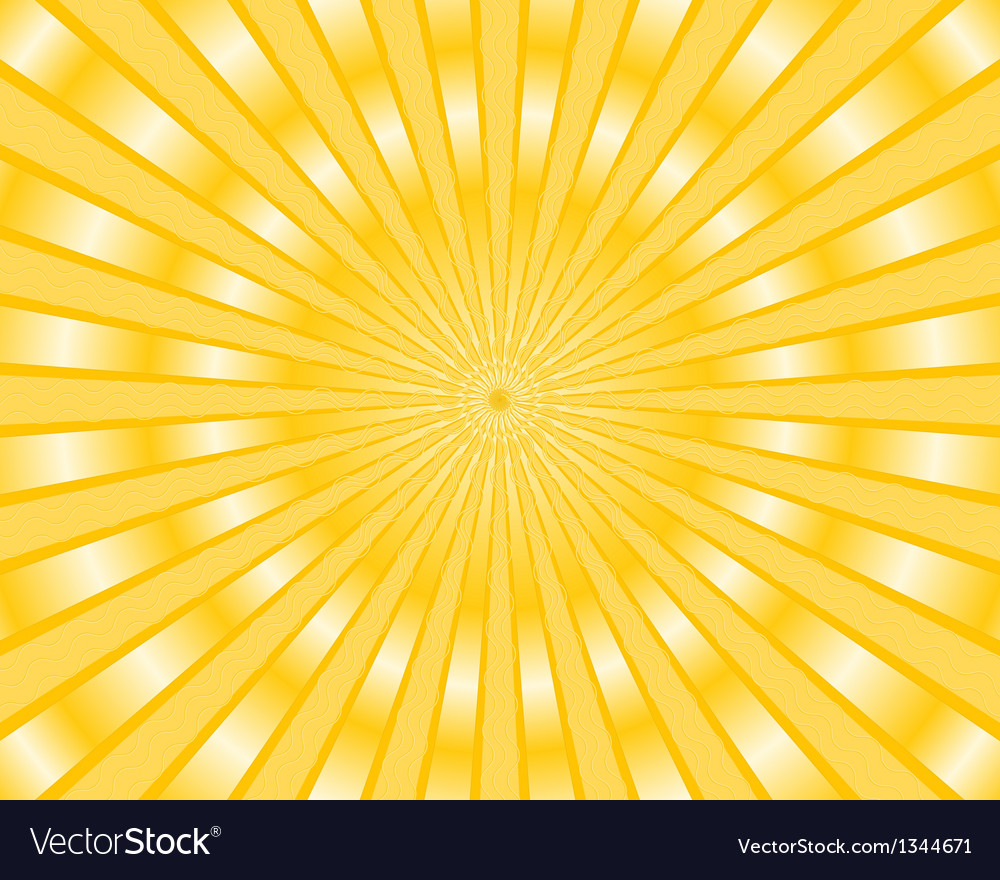 Yellow stripes background vector | Price: 1 Credit (USD $1)