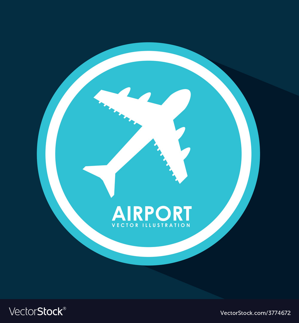Airport signal vector | Price: 1 Credit (USD $1)