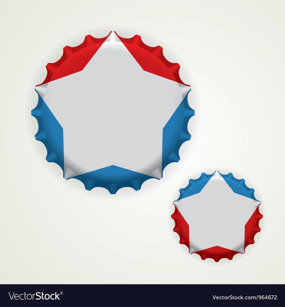 Bottle caps vector | Price: 1 Credit (USD $1)