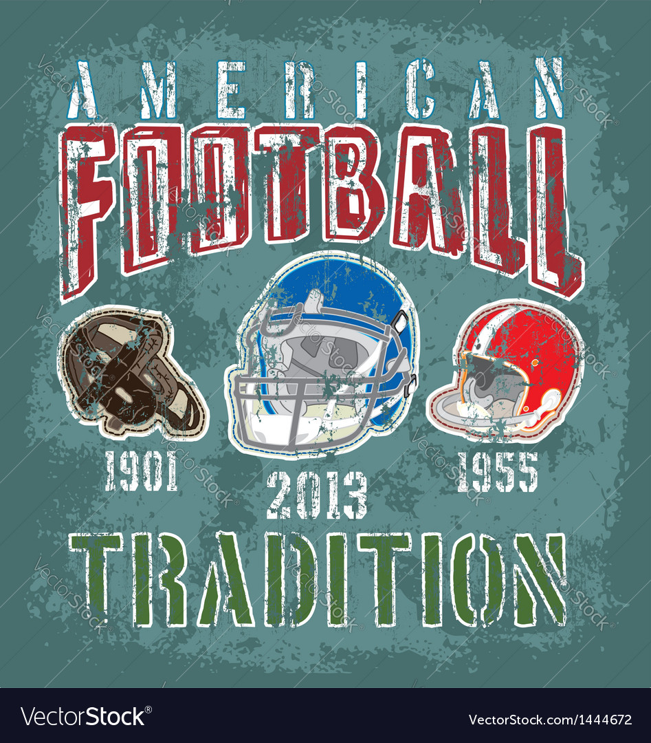 Football tradition vector | Price: 1 Credit (USD $1)