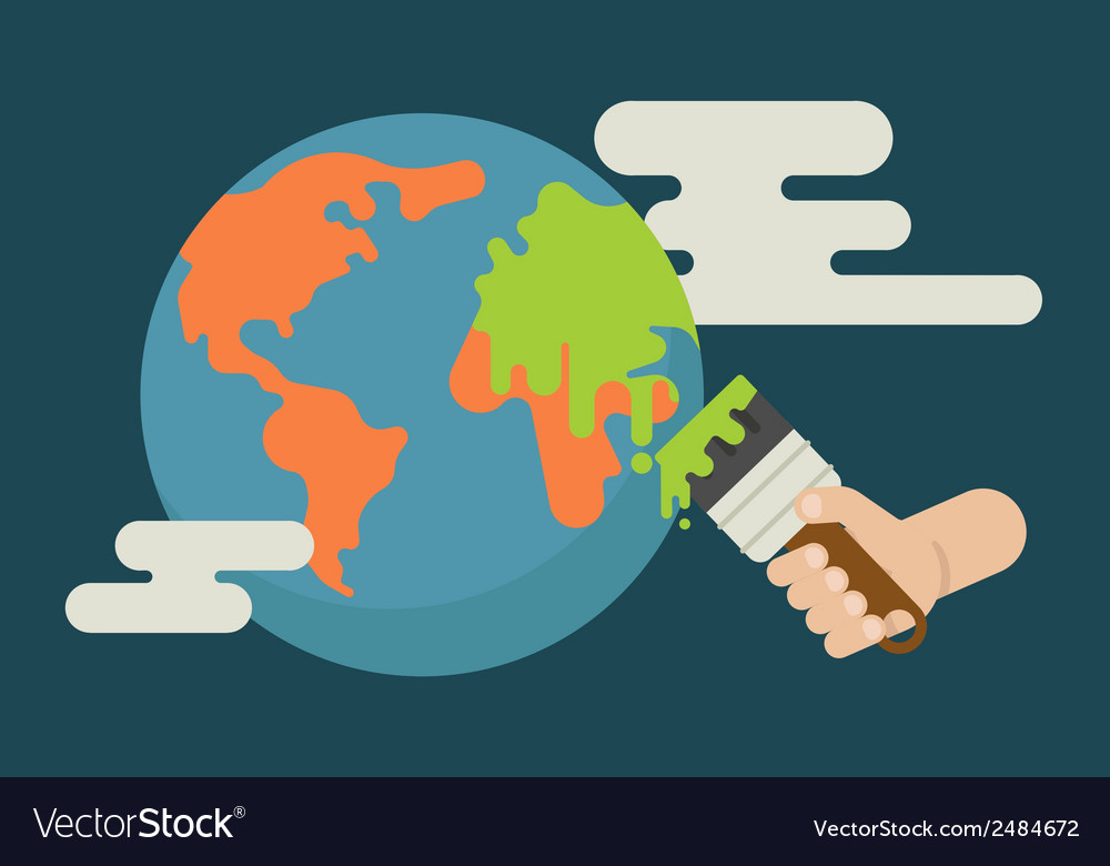 Global warming vector   Price: 1 Credit (USD $1)