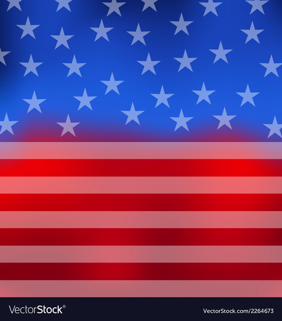 Abstract american flag for 4th of july vector | Price: 1 Credit (USD $1)