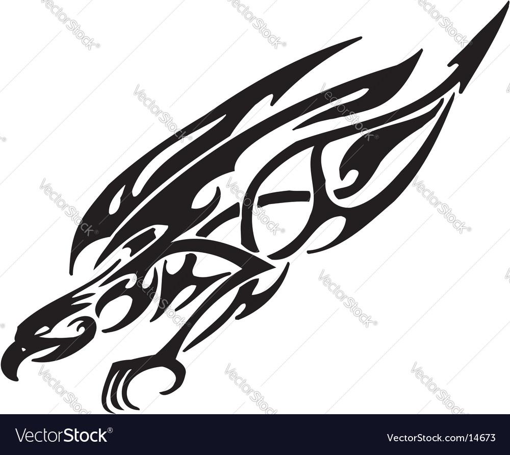 Flaming animal vector | Price: 1 Credit (USD $1)