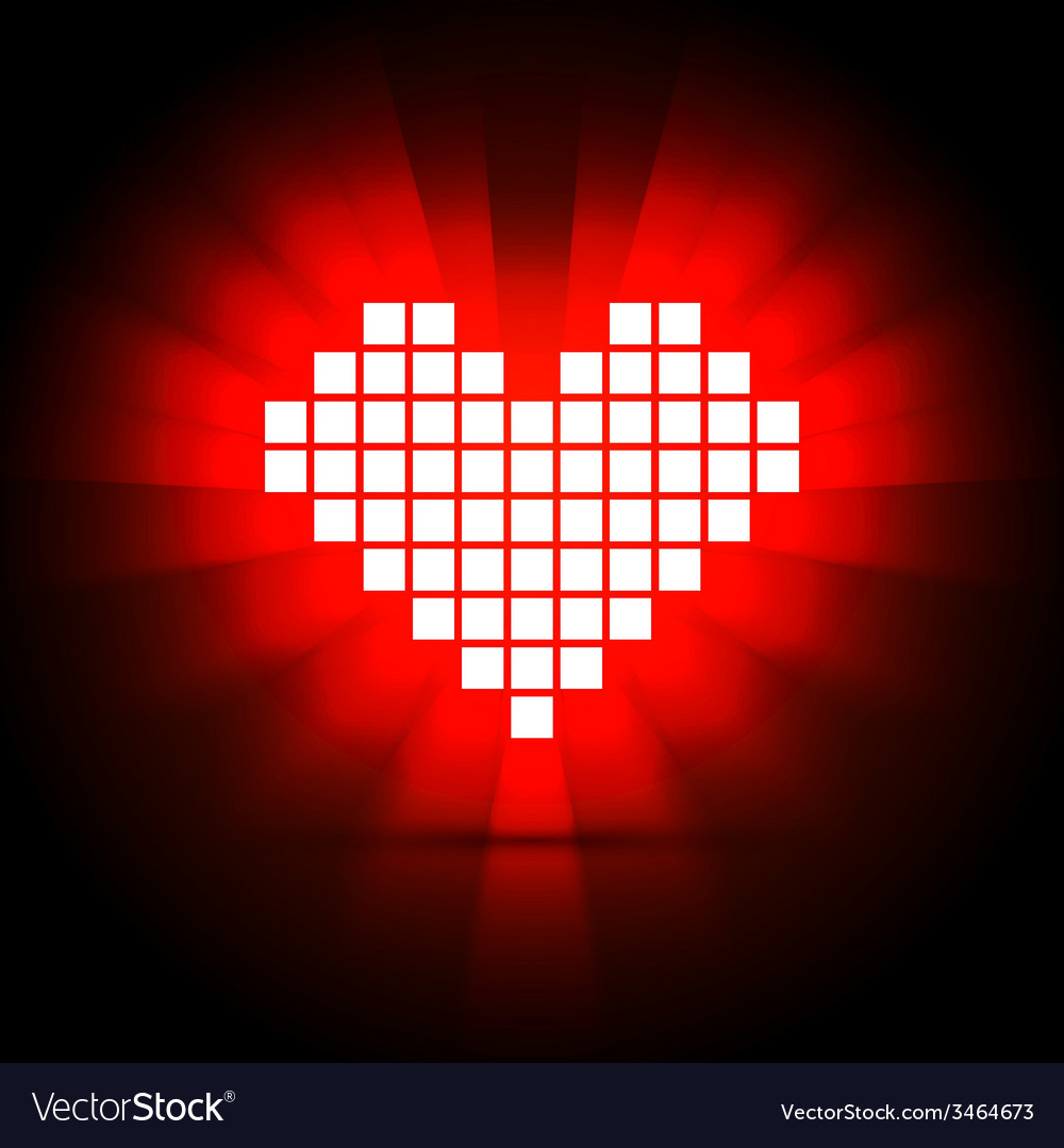 Heart energy health concept vector | Price: 1 Credit (USD $1)