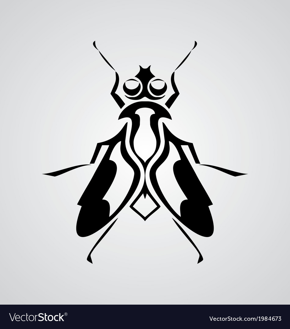 Tribal fly vector | Price: 1 Credit (USD $1)