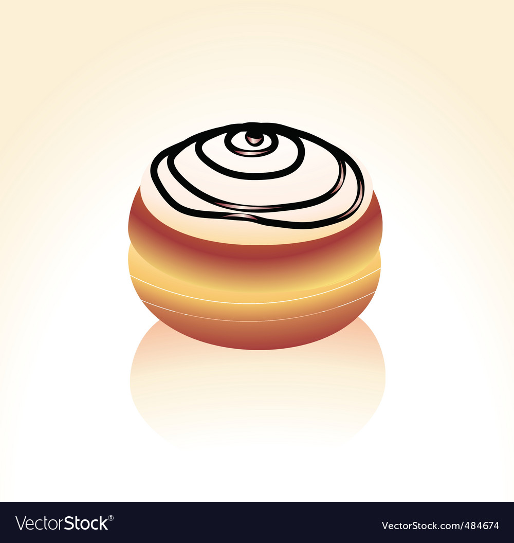 Donut vector | Price: 1 Credit (USD $1)