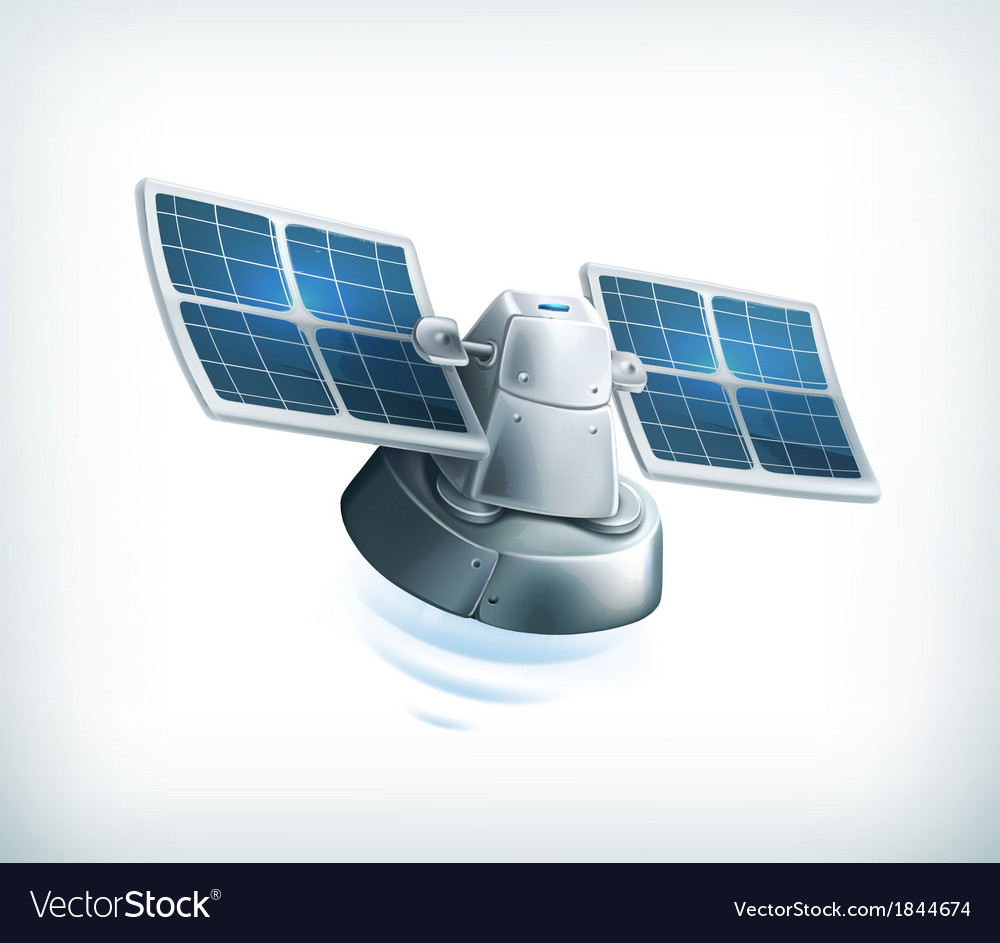 Observation satellite vector | Price: 1 Credit (USD $1)