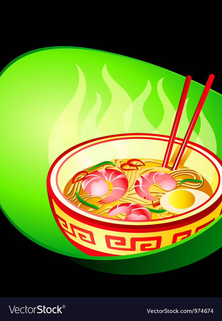 Ramen noodle vector | Price: 1 Credit (USD $1)