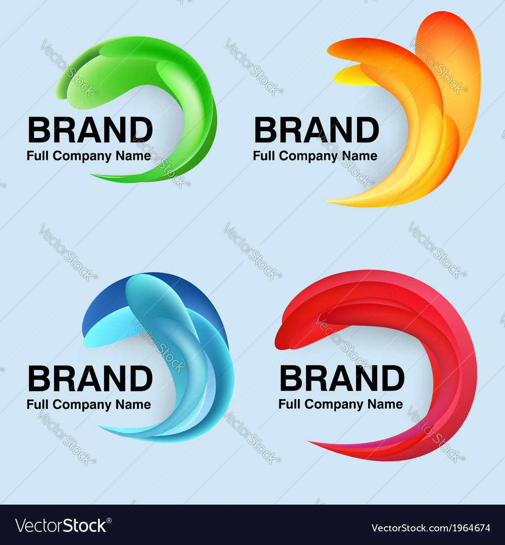 Unusual modern company design vector | Price: 1 Credit (USD $1)