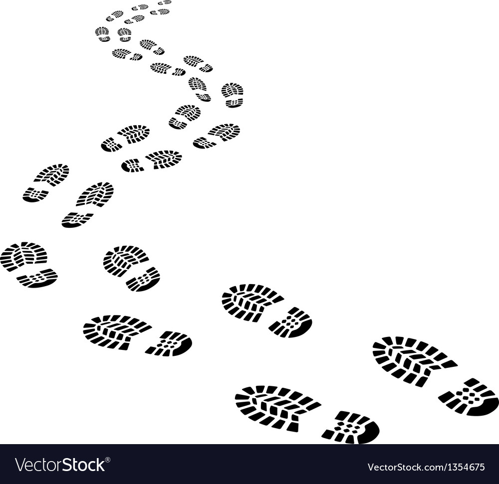 Footprints vector   Price: 1 Credit (USD $1)