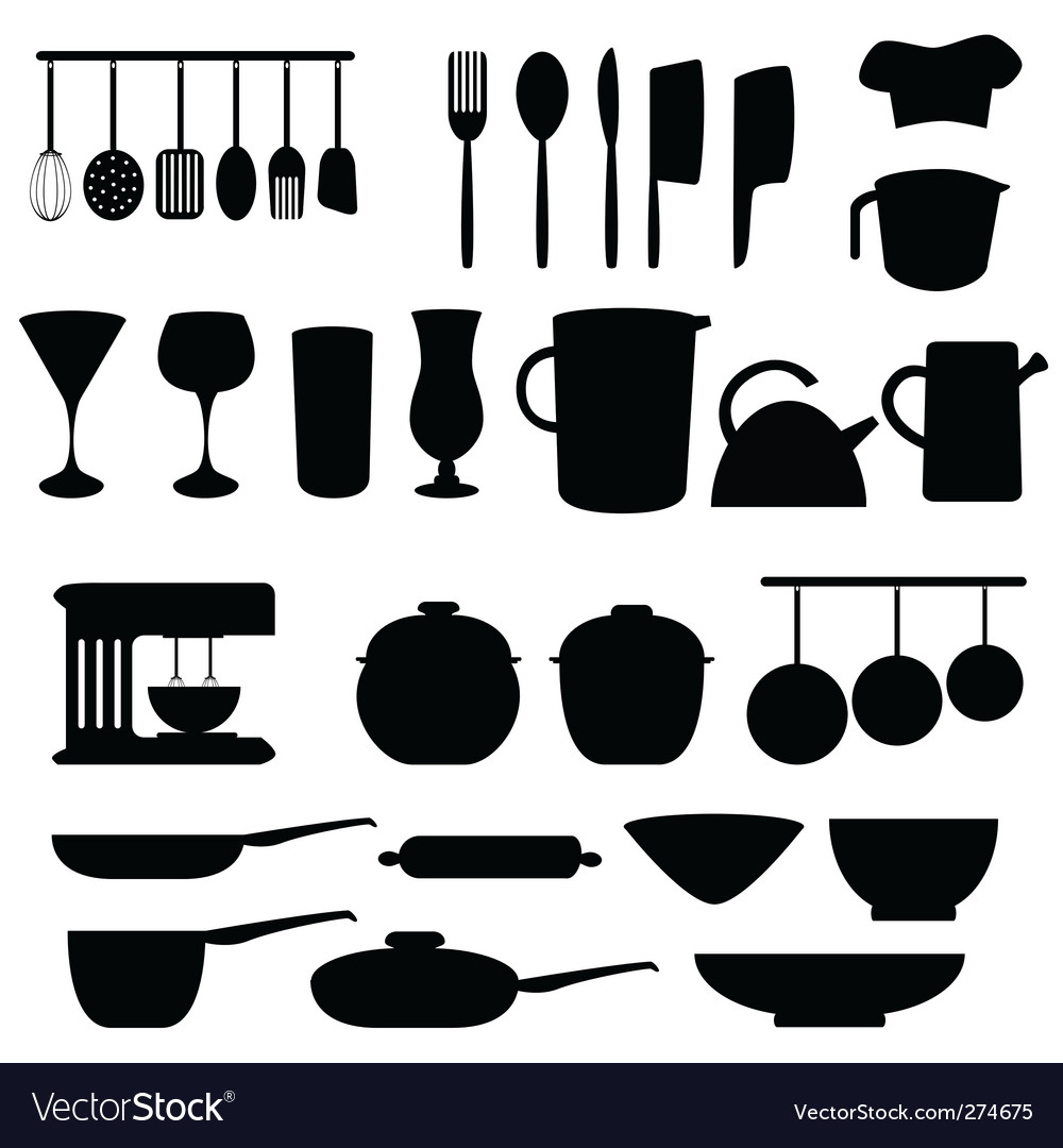 Kitchen and cookery vector | Price: 1 Credit (USD $1)